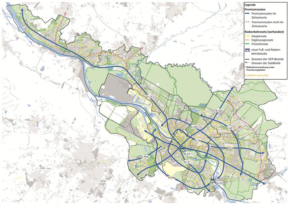 Verkehrsentwickungsplan Bremen 2025