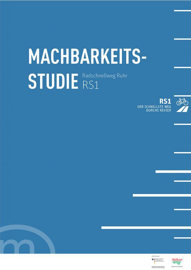 Machbarkeitsstudie Radschnellweg Ruhr (RS1)