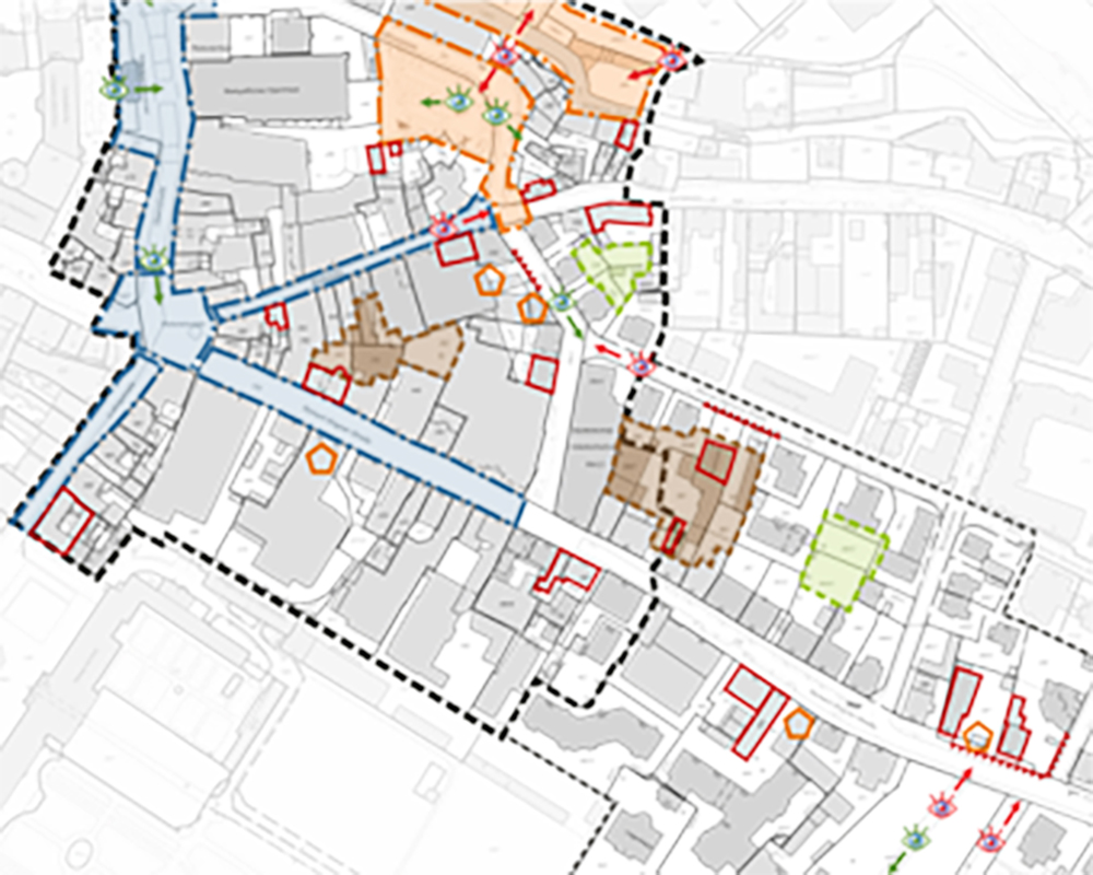 """Sanierungsgebiet """"Innenstadt Ost"""" in Bayreuth"""