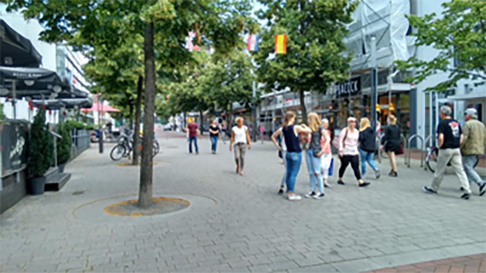 Passantenfrequenzzählung im Münsterland