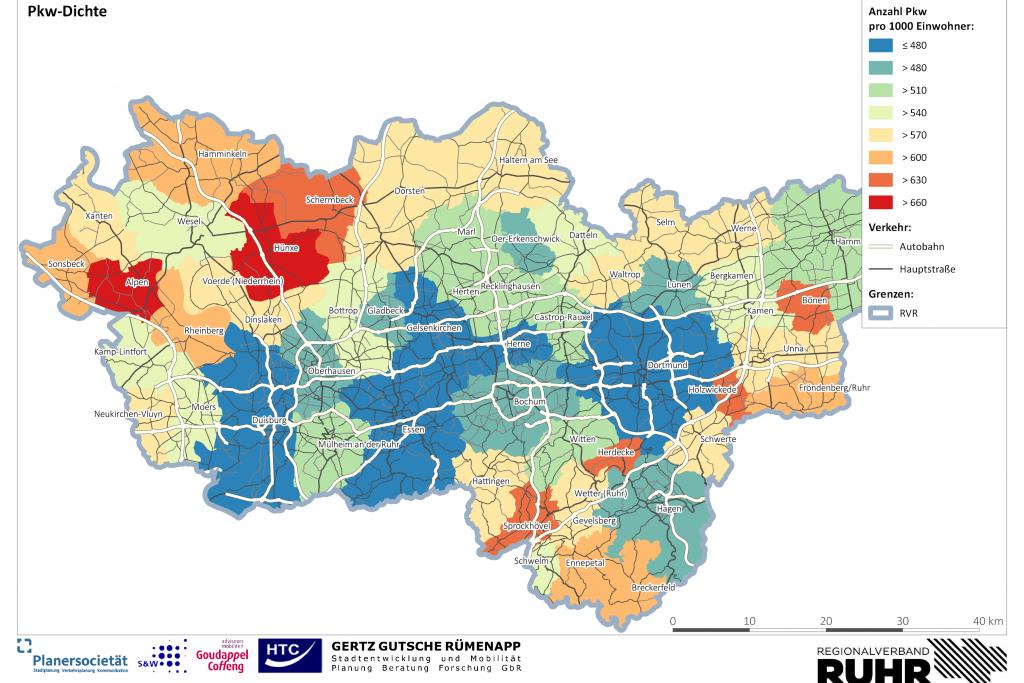 Regionales Mobilitätsentwicklungskonzept Metropole Ruhr