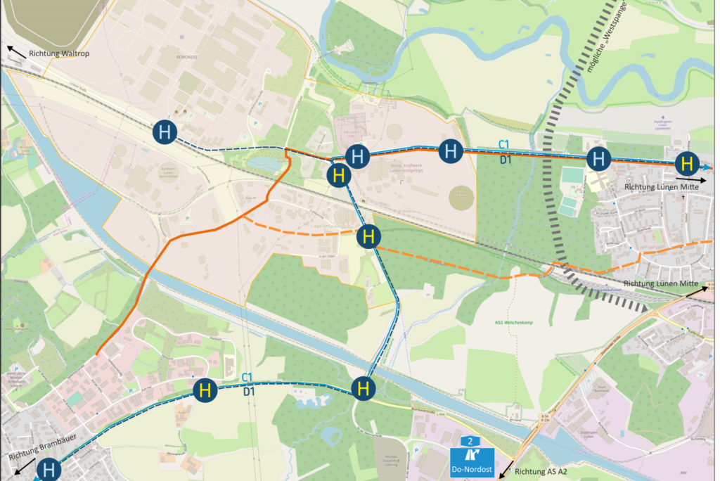 Entwicklungskonzept Wirtschaftsstandort Lünen-Lippholthausen